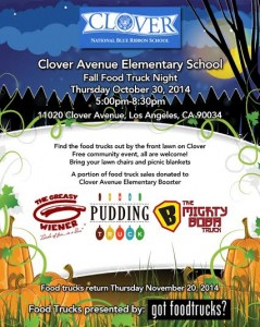 Clover Food Trucks October 2014