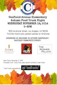 los angeles food trucks lausd book fair fundraiser