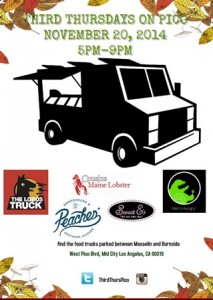 los angeles food trucks third thurdays on pico