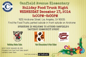 canfield elementary school food trucks los angeles fundraiser