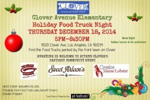 los angeles food trucks clover avenue elementary school fundraiser