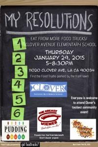 los angeles food trucks clover avenue elementary fundraiser lausd
