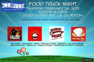 clover avenue elementary school los angeles food trucks fundraiser lausd
