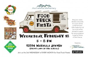 los angeles food trucks girl scout cookies short avenue elementary school lausd fundraiser