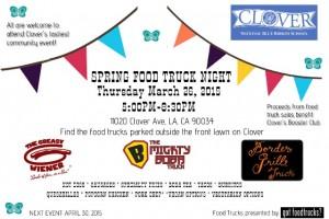 los angeles food trucks clover avenue elementary school lausd fundraiser