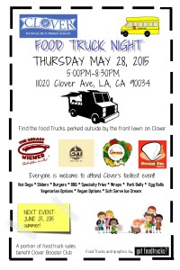 best food trucks los angeles clover avenue elementary school fundraiser fundraising lausd summer