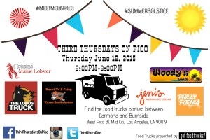 third thursdays on pico mid city los angeles great streets artwalk best food trucks