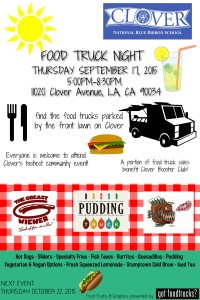 los angeles food truck events clover avenue elementary school west los angeles fundraising