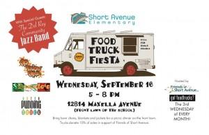 short avenue elementary food truck fiesta fundraiser free outdoor concert rel rey jazz band marina del rey venice culver city los angeles food trucks