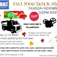 los angeles food trucks movie night fall events holiday events mar vista venice west los angeles