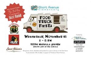 los angeles food trucks fundraiser short avenue elementary school free concert marina del rey venice culver city