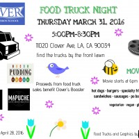 spring equinox festival food trucks clover elementary school fundraiser los angeles west los angeles mar vista palms