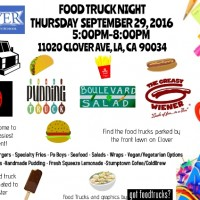 los angeles food trucks free fall summer event clover avenue elementary mar vista venice west los angeles fundraiser