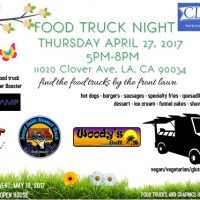 clover avenue elementary food truck night west los angeles palms free community event